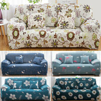 Fashion Home Decor Floral Sofa Bed Cover Stretch Slipcover Couch Cover Dirtproof