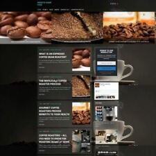 COFFEE MACHINE SHOP - Home Based Make Money Website Business For Sale + Domain