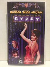 GYPSY~ NATALIE WOOD, ROSALIND RUSSELL, KARL MALDEN ~ RARE AS NEW VHS VIDEO