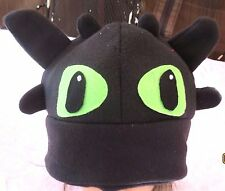 Toothless Dragon Tooth less  inspired Costume hat Cosplay How to Train SALE