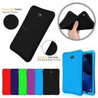 """For Samsung Galaxy Tab A 10.1"""" 2016 SM-T580/585 Case Shock Proof Silicone Cover"""