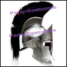 300 Movie Helmet w/ Leather Liner, Spartan King Leonidas Helmet Gladiator Dress