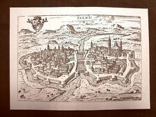 Parma Itinerario d'Italia Anno 1747 Francesco Scotto Ristampa anastatica