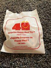 McDonalds 40th ANNIVERSARY SURPRISE HAPPY MEAL TOY #7 SEALED HAMBURGLAR