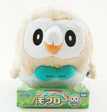 TAKARA TOMY Pokemon Poket Monster Rowlet (Mokuroh) Plush Doll 4904810872887