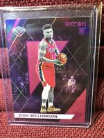 Zion Williamson Pelicans 2019-20 Chronicles Recon Pink Parallel RC Rookie #292