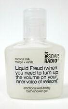 Not Soap Radio Liquid Freud Emotional Well Being Bath shower Gel 1.1 Oz Wash