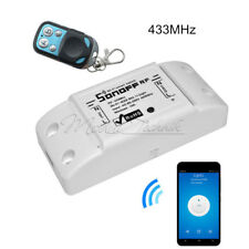Sonoff RF WiFi Wireless Home Smart Switch Module Socket+433Mhz Remote Control