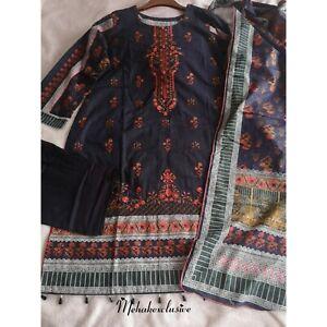 Pakistani Winter Shalwar Kameez Ready to Wear Bin Saeed Khaddar
