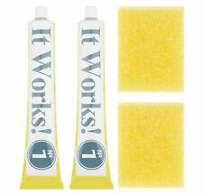 It Works! Multi Stain Remover kit - two tubes and two sponges - Made In Germany