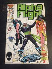 Alpha Flight#37 Incredible Condition 9.4(1986) David Ross Art!!