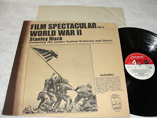 "Stanley Black & London Festival ""Film Spectacular-Vol 6,WWII"" 1976 LP,Nice VG++!"