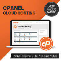 5 Year UK cPanel Cloud Website Web Hosting - Website Builder - SSL & More