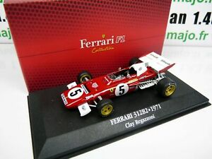 F1F5 Car Atlas 1/43 F1 Ferrari Formula 1 Champion: 312B2 1971 C.Regazzoni