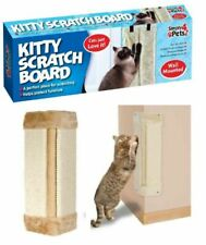 PET KITTEN CORNER SISAL WALL SCRATCHER CATS HANGING CAT SCRATCHING POST BOARD