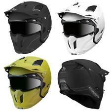 MT Streetfighter Modular Helmet Motorcycle Adventure Bike Lid Plain New