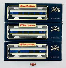 ELECTROTREN H0 3221/2/3 - LOTE 3 COHES TALGO 200 EP. V - COMO NUEVO - TOP!