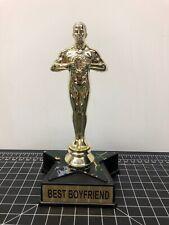 """Best Boyfriend Trophy Oscar Style 7"""" Gift"""