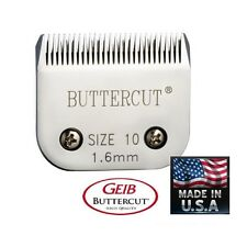 GEIB BUTTERCUT #10 Blade Pet Grooming*Fit Oster A5 A6,MOST Andis Wahl Clipper