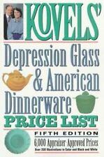 Kovels' Depression Glass & American Dinnerware Price List, 5th Edition Kovel, R