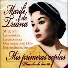 MARIFE DE TRIANA - MIS PRIMERAS COPLAS - MARIA DE LA O - DECADA DE LOS 50 [CD]