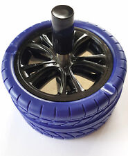 SPINNING ASHTRAY  IN THE FORM OF A CAR  WHEEL