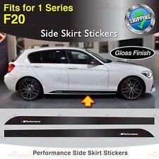 Für BMW F20 1er M Performance Seite Schweller Türleiste Aufkleber Grafik GLANZ