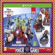 Disney Infinity Starter Pack 2.0 Marvel Super Heroes (Microsoft Xbox One) BN