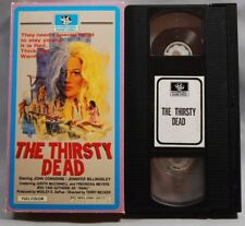 rare cult The Thirsty Dead 1974 VHS sleaze horror bloody Interglobal Video case