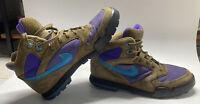 Vintage Women's Nike Caldera Plus ACG Hiking Boots Shoes 8 Brown Purple Blue