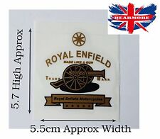 Royal Enfield Clásico Moto Combustible Tapa del Tanque de Gasolina Pegatina @UK