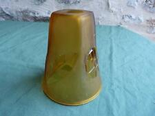Tulipe 1930 abat jour en pâte de verre lampe de bureau applique d'ambiance N°2