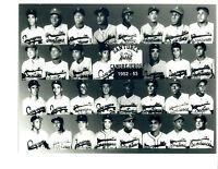 RARE 1952 ROBERTO CLEMENTE  ROOKIE SANTURCE SAN JUAN 8X10 TEAM PHOTO BASEBALL
