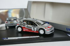 Norev 1/43 - Peugeot 206 WRC World Champion Rally 2001