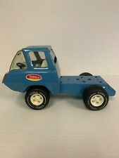 "Vintage Tonka Semi Cab over Tractor Nice 7 7/8"" Long Blue die cast metal GUC"