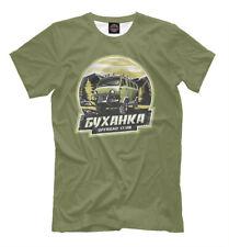 УАЗ New T-shirt car auto Russian UAZ offroad 420026