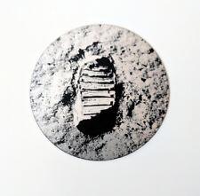 Buzz Aldrin footprint on the moon sticker - Made in Australia - NASA Apollo 11