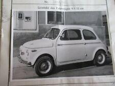 STEYR  PUCH  500 - D  1959  TYPENSCHEIN !!
