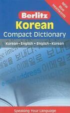 Berlitz Korean Compact Dictionary: Korean-English/English-Korean (Paperback or S