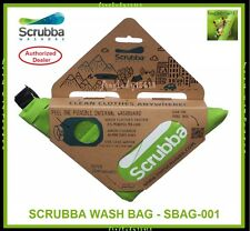 SCRUBBA WASH BAG - Portable Laundry Camping Travel Washing Bag System SBAG-001