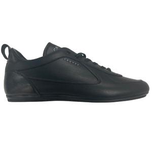 Cruyff Men's Nite Crawler V2 Leather Trainers - Black