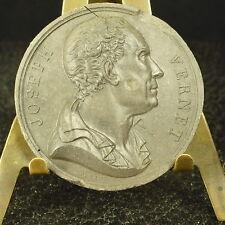 Médaille grès XIX  Claude Joseph Vernet peintre, dessinateur par Petit Medal