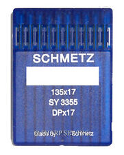 10 SCHMETZ 135X17 SIZE#22 SEWING MACHINE NEEDLES DPX17 fits SAILRITE 111