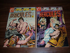 Hercules 1-13-total of 9 issues