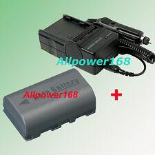 Battery + Charger For BN-VF823 VF808 BN-VF815 JVC GR-DA30 GR-DA30U GZMG335H HD7