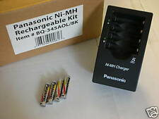Panasonic NiMh AAA Batteries and Charger Kit New