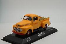 RARE !! Ford F1 Pick-UP Coca - Cola Minichamps 1/43