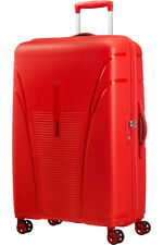 American Tourister Skytracer Large Spinner Suitcase, 77cm, Formula Red