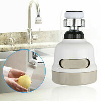 Moveable Kitchen Tap Head 360° Rotatable Faucet Water Saving Sprayer New