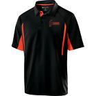 Hammer Men's Reaper Performance Polo Bowling Shirt Black Orange Dri-Fit Comfort